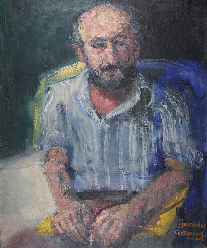 Portrait of a man: José María Aguilar