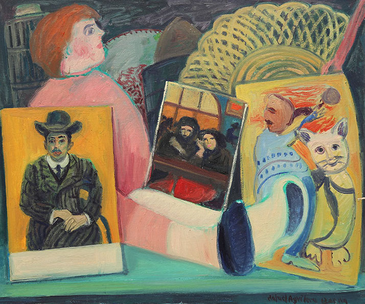 Between Picasso and Miró