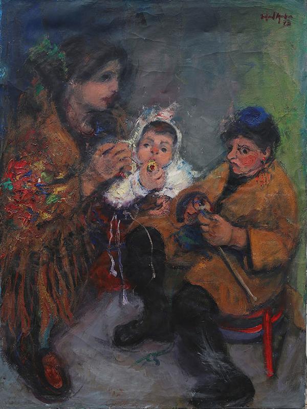 Mamma Isabel, Mica and Beatriz